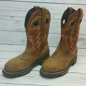 Rocky Pull On Westen/Work Boots Size 8.5 Wide